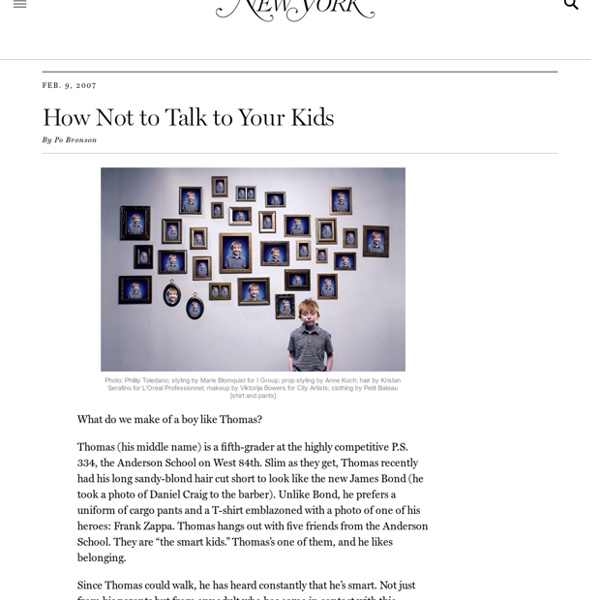 The Power (and Peril) of Praising Your Kids