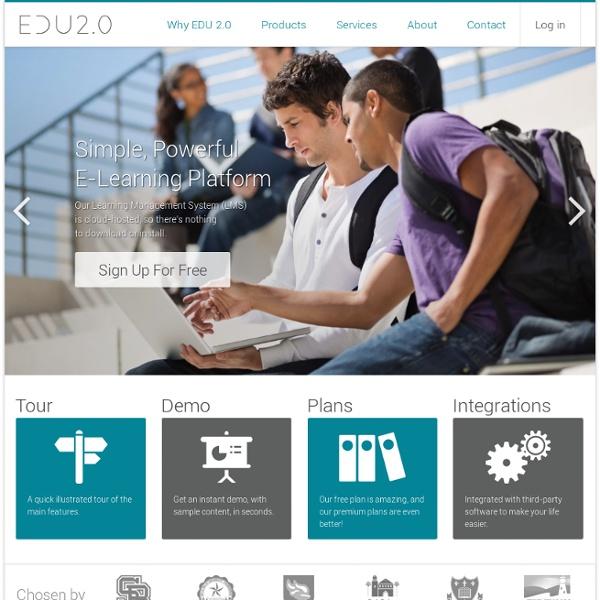 EDU 2.0 Egyszerű, Hatékony E-learning Platform