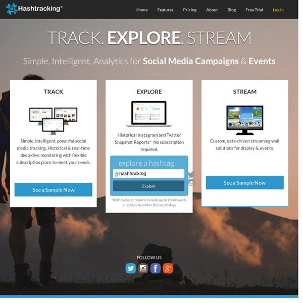 Twitter Hashtag Tracking and Analytics