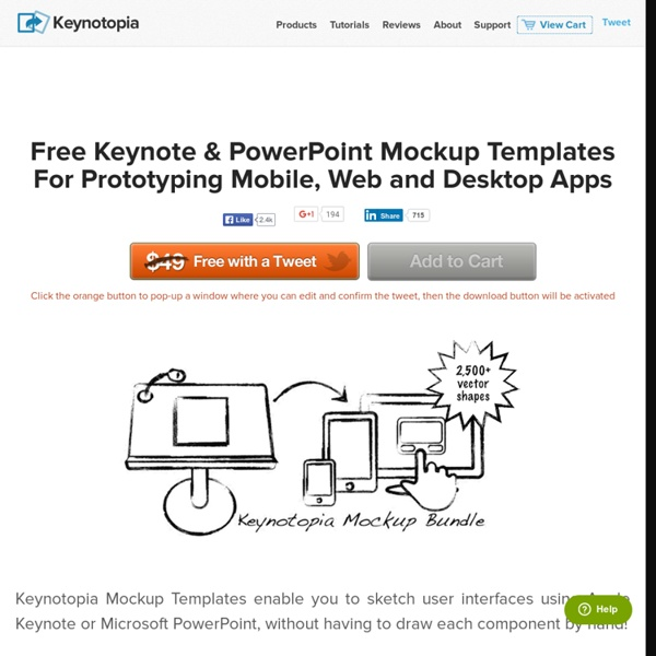 Free Keynote Mockup Templates For Iphone Ipad Android