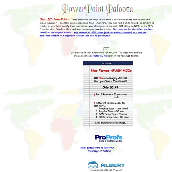 Powerpoint Palooza