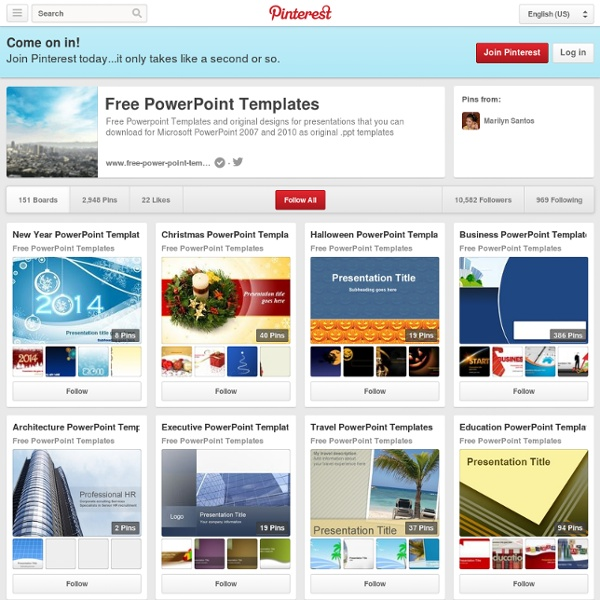 Free Powerpoint (fppt) on Pinterest