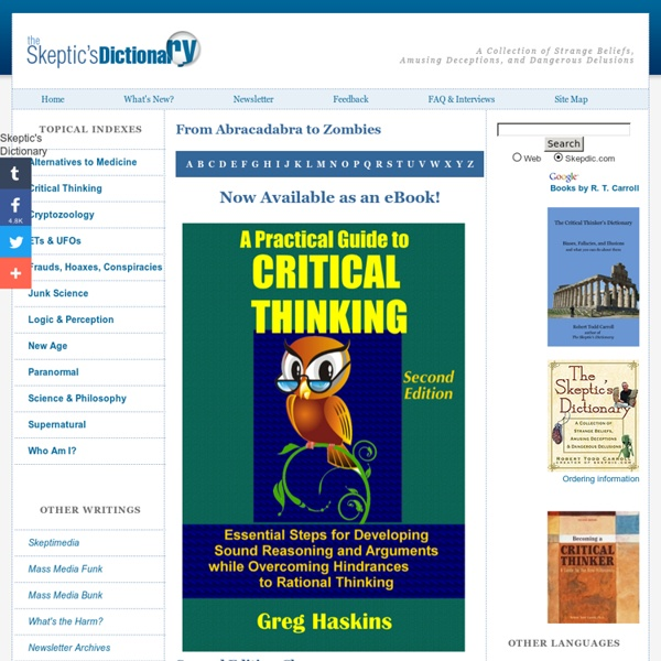 A Practical Guide To Critical Thinking