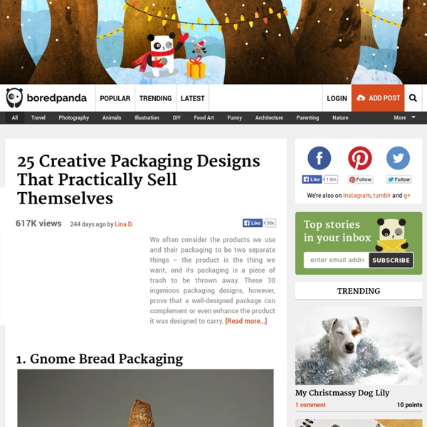 25 Creative Packaging Designs That Practically Sell Themselves
