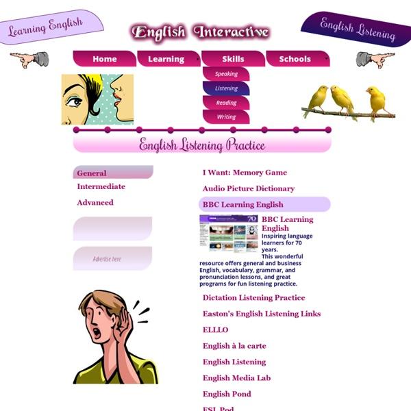 English Listening Practice Online