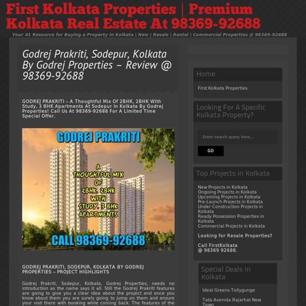 Godrej Prakriti Sodepur Kolkata