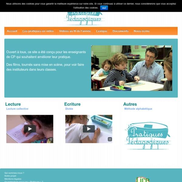 Pratiques pédagogiques - Des films pour découvrir des pratiques de classe en CP