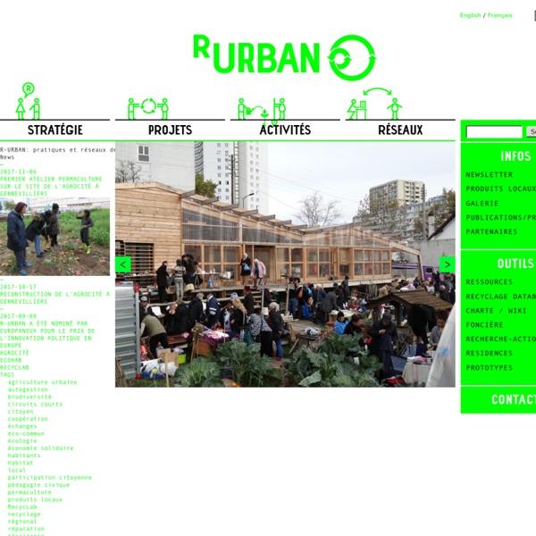 R-URBAN: pratiques et réseaux de résilience urbaine