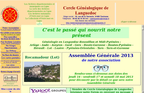 Cercle Généalogique de Languedoc