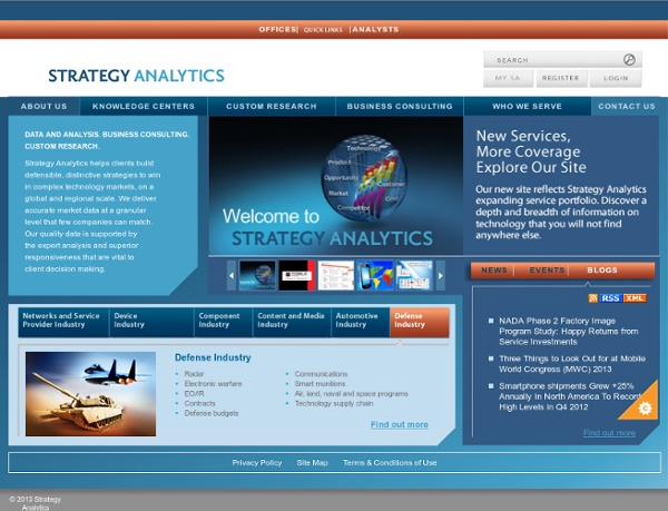 Strategy Analytics: Market and Research Consulting
