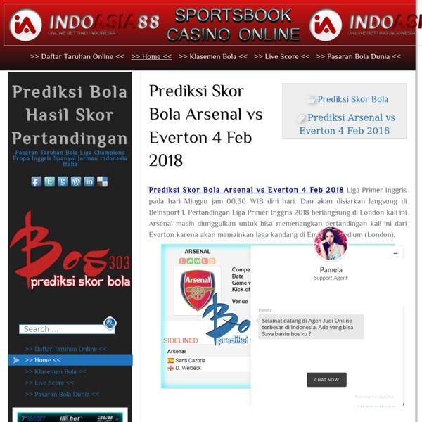 Prediksi Bola Hasil Skor Akhir Pasaran Taruhan Online