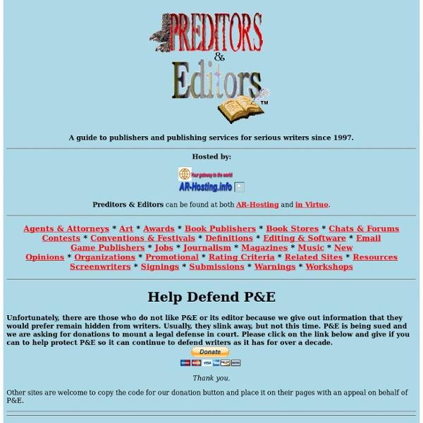 Preditors & Editors: WD Top