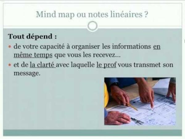 Prendre des notes sous forme de Mind map : difficultés et enjeux