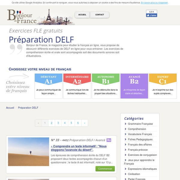 Delf Examen: Alianza Francesa De Tenerife – Quotes of the Day