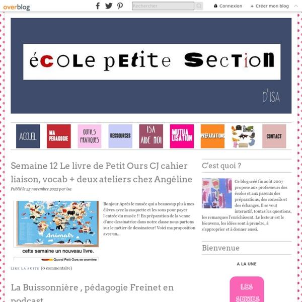 École petite section