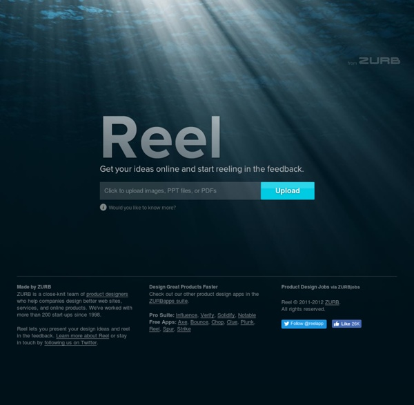 Reel – Present your design ideas and reel in the feedback