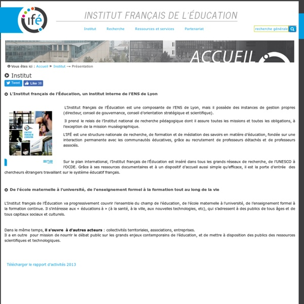 Institut francais de education