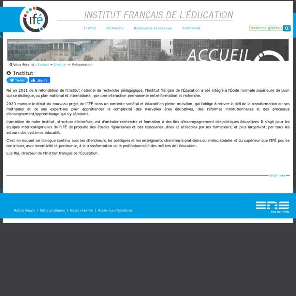 Institut Français de l'Education