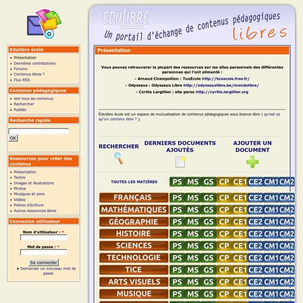 Ecole.edulibre.org