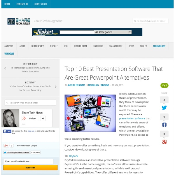 Top 10 Best Presentation Software That Are Great Powerpoint Alternatives