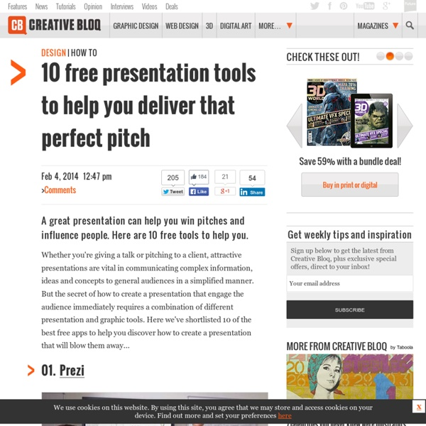 How to create a presentation: 10 free tools