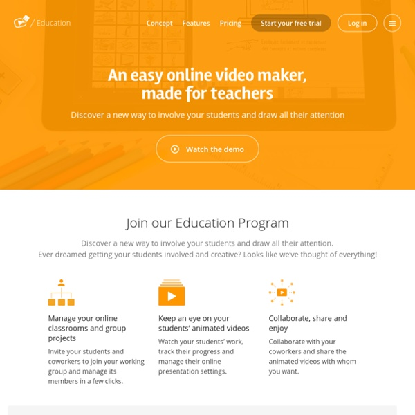 Explee pour l'éducation - Créez, partagez et découvrez des vidéos animées pédagogiques simplement