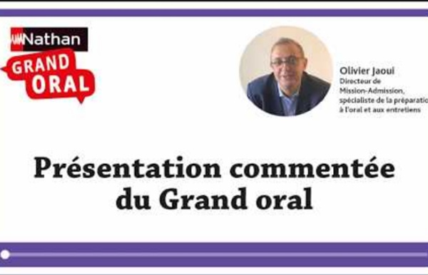 Présentation de l'épreuve du Grand oral