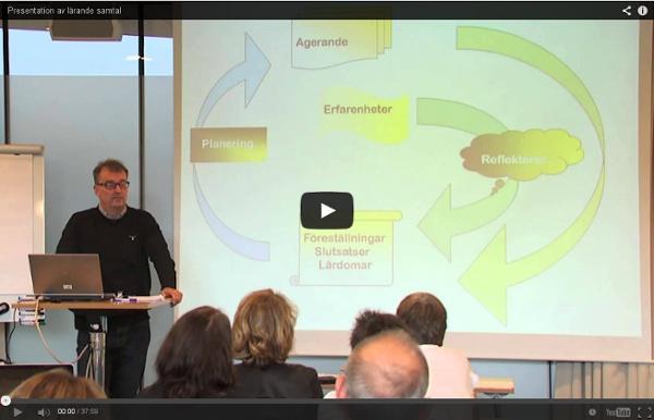 Presentation av lärande samtal