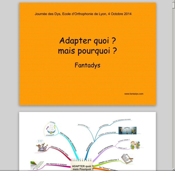 Document génial avec exemple d'adaptation