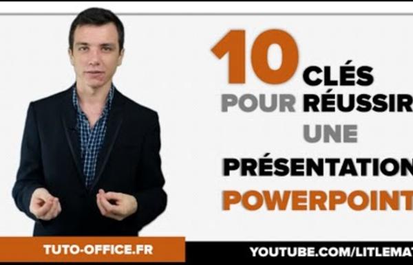 10 Clés pour Réussir une Présentation PowerPoint - (Tuto Office)