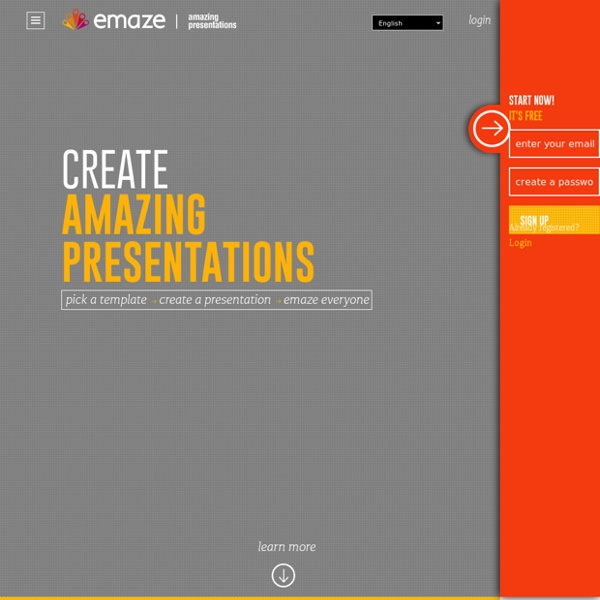 Amazing presentations in minutes