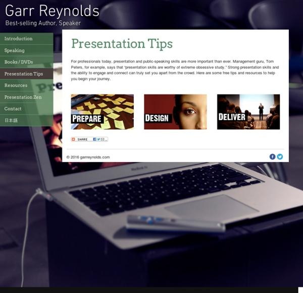 Garr Reynolds/Presentations