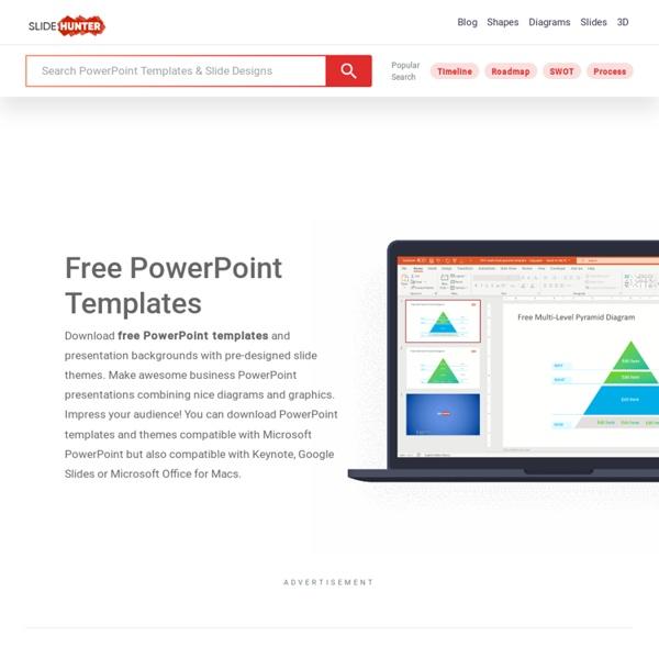 Plantillas gratuitas para PowerPoint, fondos y presentaciones
