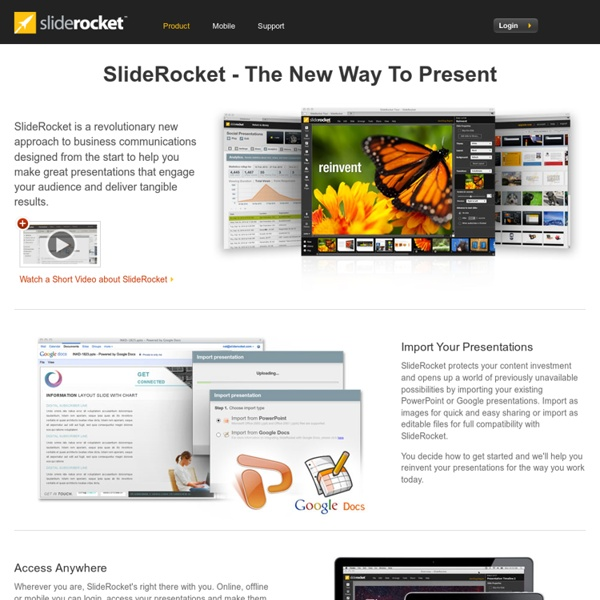 Presentation tools and free presentation software