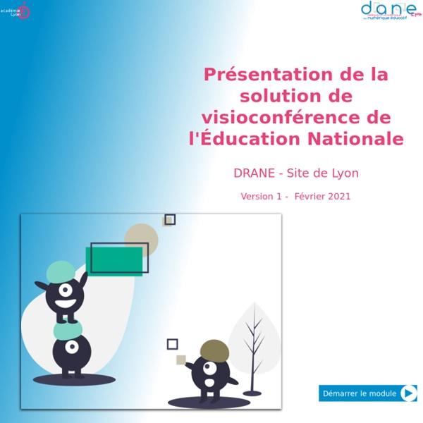 Présentation de la solution de visioconférence de l'Éducation Nationale