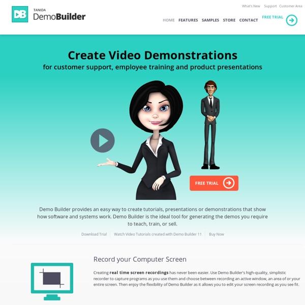Demo Builder - Create Software Demo Presentation - Screen Recorder