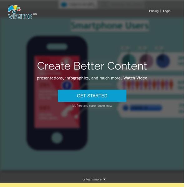 Kolay WebContent tarafından Visme - İnteraktif HTML5 Online Sunumlar, Infographics, animasyonlar ve afiş oluşturun