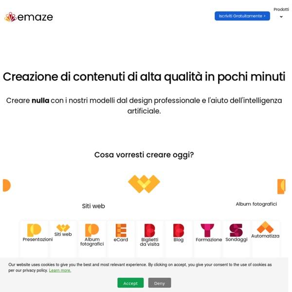 Emaze - Online Presentation Software – Create Amazing Presentations