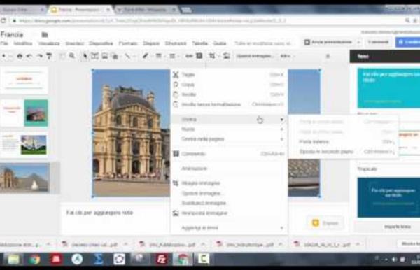 Google Presentazioni Tutorial (parte 1)