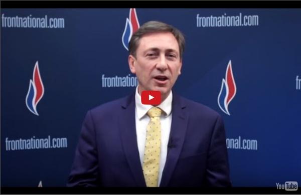 Bernard Monot présente le Bulletin économique du Front National - 15/01/2016