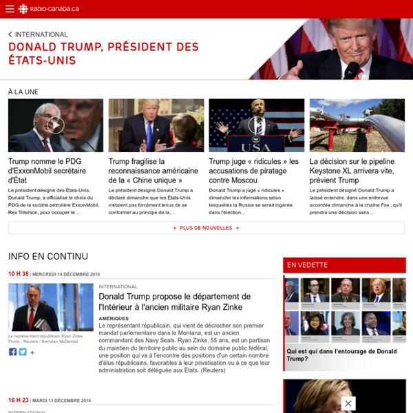 La présidentielle américaine 2016 │ ICI Radio-Canada