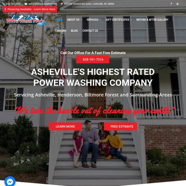 Pressure Washing Companies Hendersonville NC