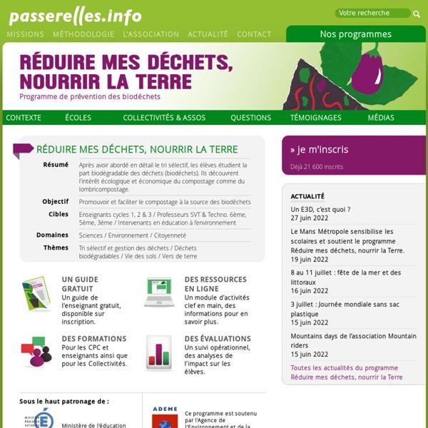Programme de prévention des biodéchets