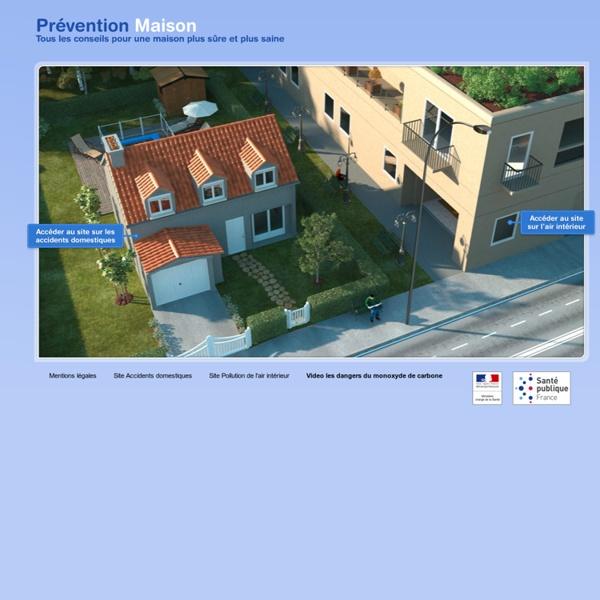 Santé publique France - Prévention Maison / Accidents domestiques