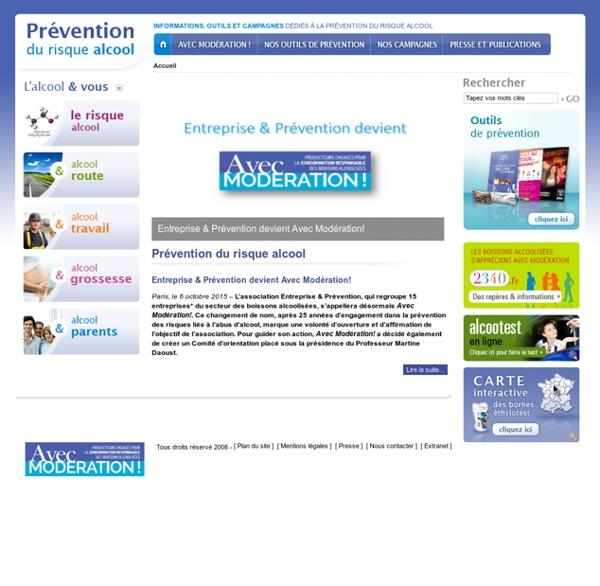 Prévention du risque alcool