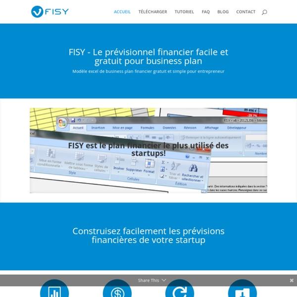 FISY - Prévisionnel gratuit pour Business Plan financier