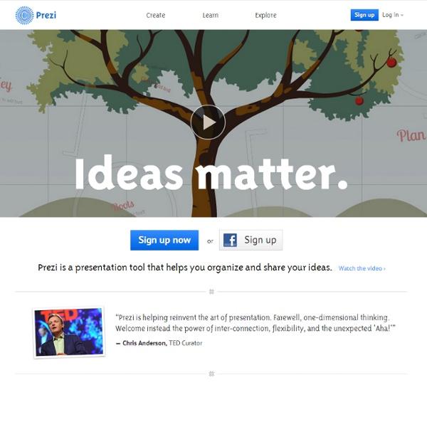 Prezi - Ideas matter.