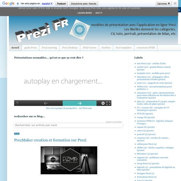 Prezi - guide francophone