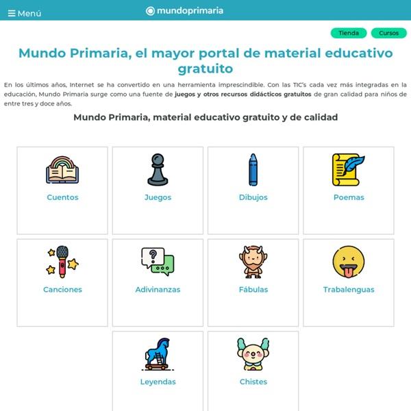 Mundo Primaria - El portal para aprender jugando.
