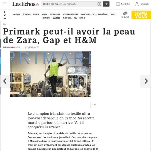 Primark peut-il avoir la peau de Zara, Gap et H&M